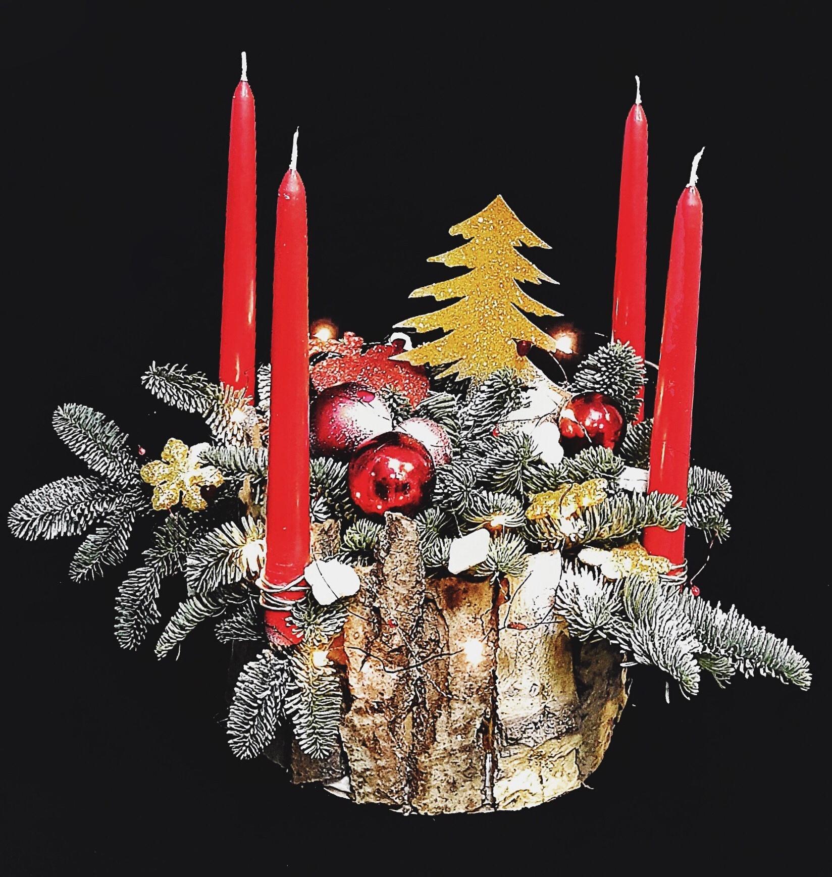Праздничный декор сстола